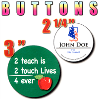 Full Color Buttons