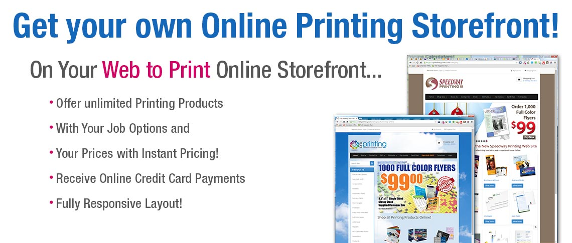 Web To Print Web To Print Storefronts Web To Print Software