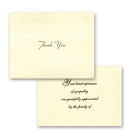 Premier Acknowledgement Card #1055-30/P