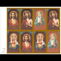 J Brandi Prayer Card - 701M