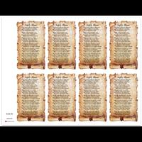 J Brandi Prayer Card - 875M