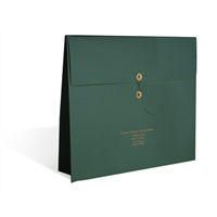 Carryall - Hunter Green with Gold Imprint