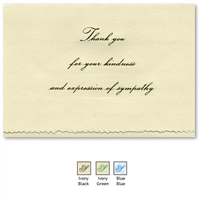 Engraved Acknowledgement Card #1051-93