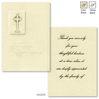 Engraved Acknowledgement Card #1065-81