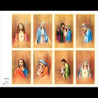 J Brandi Prayer Card - 707M