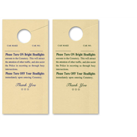 Cemetary Headlight Cards #1028-1
