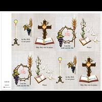 J Brandi Prayer Card - 255M
