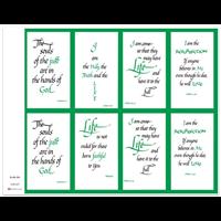 J Brandi Prayer Card - 555M