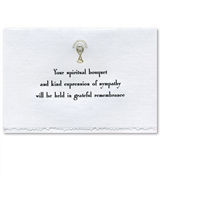 Spiritual Bouquet Card #461-34