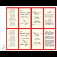 J Brandi Prayer Card - 333M